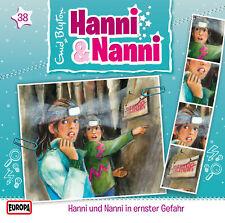CD * HANNI & NANNI - HÖRSPIEL 38 - IN ERNSTER GEFAHR # NEU OVP =