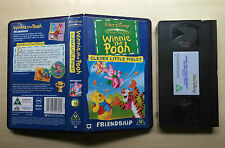 DISNEY - WINNIE THE POOH - CLEVER LITTLE PIGLET - VHS VIDEO - BRAND NEW & SEALED