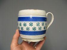 Ancienne tasse à déjeuner. Céramique Creil & Montereau fin XIXe