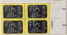 1972 8c Parent Teachers Associations plate block of 4, Scott #1463, MNH VF
