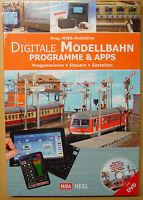 Digitale Modellbahn Programmieren Steuern PC Digital Apps Steuerung Buch + DVD