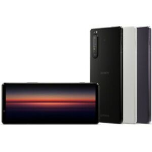 "Sony Xperia 1 II XQ-AT52 Dual-SIM 8/256GB 6.5"" OLED 4K HDR IP68 Phone By FedEx"