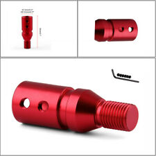 Aluminum Red Auto Transmission Thread Converter Gear Lever Adapter 12x1.25 Kit