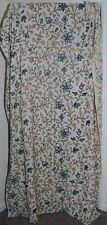 "Antique Jacobean Wool Embroidery Crewel Work Door Curtain Fabric 50"" x 96"""