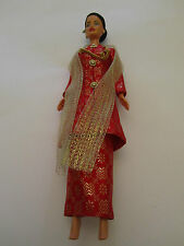 Barbie Dolls of the World Malaysian Malaysia - unused no shoes - Apec 98 - Rare