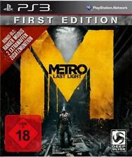 PlayStation 3 Metro Last Light First Edition 100% UNCUT Sehr guter Zustand