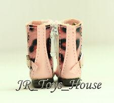 Pink Punk Boots D73 fits Pullip blythe momoko Barbie