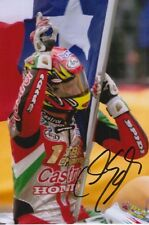 COLIN EDWARDS HAND SIGNED CASTROL HONDA 6X4 PHOTO 1.