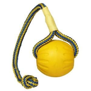 Starmark Dog Training Ball on Rope Medium Launcher Thrower Fetch Ball for Dogs
