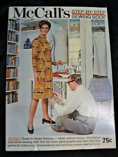 Vintage 1967 McCall's Step by Step Sewing Book Fabric Clothes Instruction