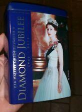 25 bags ROYAL COLLECTION QUEEN ELIZABETH II DIAMOND JUBILEE TEA CADDY (tin)