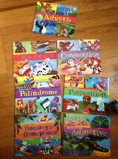Lot of 8 If You Were books Adverb, conjunction and more