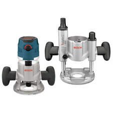 Bosch MRC23EVSK 2.3 HP Combination Plunge and Fixed-Base Router Kit NEW