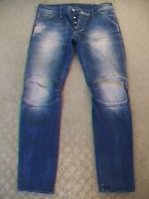 MENS G STAR '5620 3D LOW TAPERED' JEANS SIZE 32