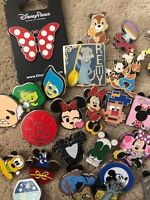 Lot of Disney pins (10) GREAT for trading!