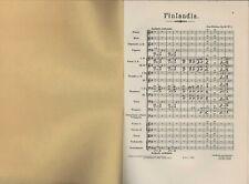 Jean Sibelius  :   Finlandia Op.26 no.7  Score    J5.111