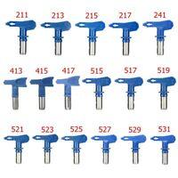 29 Type Airless Paint Sprayer Nozzle Spray Gun Tips 2/3/4/5/6 Series Blue ❤ R