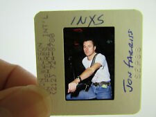 More details for original press photo slide negative - inxs - jon farriss - 1988 - a