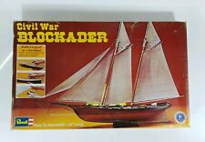 1974 RARE Vintage Revell Model Kit Civil War BLOCKADER Blockade Ship