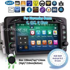 Mercedes Autoradio Android 8.0 DAB+ C,CLK,G Class W203 W209 W639 GPS TPMS 7863FR