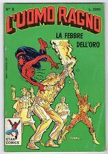 fumetto L'UOMO RAGNO STAR COMICS MARVEL numero 8 QUASI OTTIMO