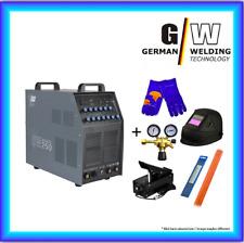 Set: Vector Saldatrice AC/DC WIG OW 250 P M. plasma ALU inverter elettrodo MMA