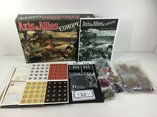 Axis & Allies Europe Board Game Avalon Hill New in Open Box See Description