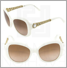 BVLGARI Butterfly Ivory Gold Chain Brown Butterfly Sunglasses BV8129HB 8129