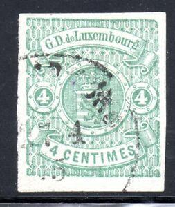 Luxemburg 1874, Nr 26 gestempelt, signiert BÖTTGER. /2 Fotos)