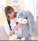 Creative Plush Toy Cute Rabbit Fur Big Ears Bunny Doll Holiday Gift