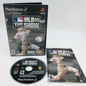 MLB The Show 09 Baseball (PlayStation PS2 Video Game) Complete Tested