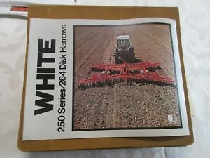 White 250/264 Disk Harrows Brochure 12 Page