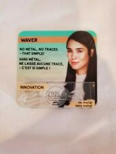 Invisibobble Traceless Waver, single clip, clear, NEW