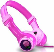 JLab JBuddies Kids Volume Limiting Headphones Pink