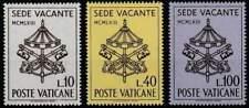 Vaticaan postfris 1963 MNH 429-431 - Sede Vacante