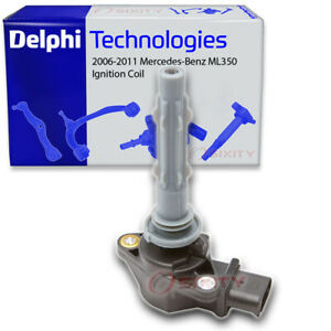 Delphi Ignition Coil for 2006-2011 Mercedes-Benz ML350 3.5L V6 Wire Boot fh