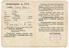 1935 Estonia Estonian Country Bank EESTI MAAPANK Mortgage Loan Record Book #2