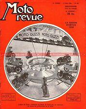 MOTO REVUE  981 PUCH 250 TF MOTO GUZZI Grand Prix ROUBAIX SAN REMO LEIPZIG 1950