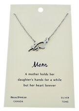 Shagwear Mom & Daughter Dance Pewter Necklace