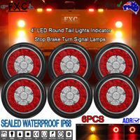 6X LED Trailer Lights Tail Lamp Stop Indicator 12V 24V ADR 4WD 4X4 UTE CARAVAN