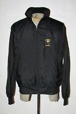 VTG 80's Pittsburgh Steelers Helmet Logo Nylon Light Weight Windbreaker Jacket L