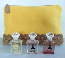 Guerlain Gift Set - 3 minis 5 ml- Mitsouko & La petite robe noire+ pouch