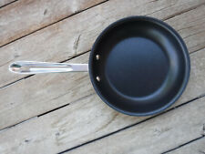 """All-Clad D5 Stainless Nonstick Brushed 8"""" fry pan NEW USA"""