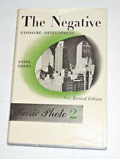 "Ansel Adams Basic Photo Series Vol.2~""The Negative""~2nd Ed.,1st Print.~1959~HCDJ"