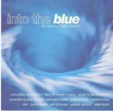 INTO THE BLUE - 36 ATMOSPHERIC TRACKS various (2X CD, compilation) downtempo