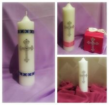 Stunning Christening Candles Custom Design