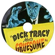 Dick Tracy Meets Gruesome - Crime,Drama - Ralph Byrd, Boris Karloff - 1947 - DVD