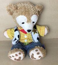 Disney Duffy Bear Hidden Mickey Plush Toy Tan Woody Costume Toy Story Teddy