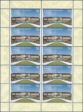 Schloss Ludwigsburg - 70 Cent - postfrisch - Zehnerbogen - Mi.Nr. 3285