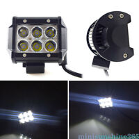 Super Bright 18W Car 6 LED Work Light Offroad Spot ATV SUV Fog Lamp Bulb 12V
